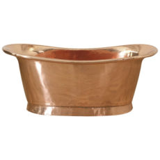 Copper Bathtub Shiny Copper - Coppersmith Creations