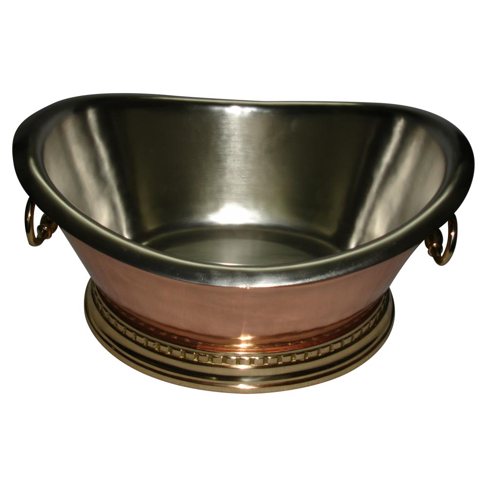 Copper Beverage Tub   Coppersmith Creations