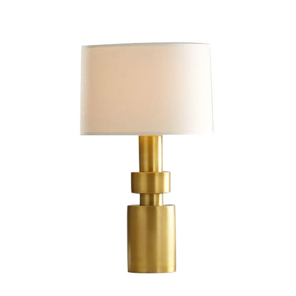 Solid Brass Base Lamp - Coppersmith Creations
