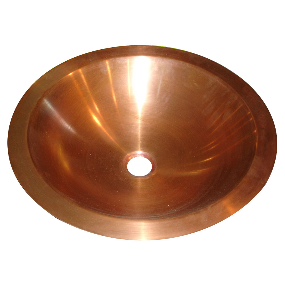 Copper Sink Smooth Finish   Coppersmith Creations
