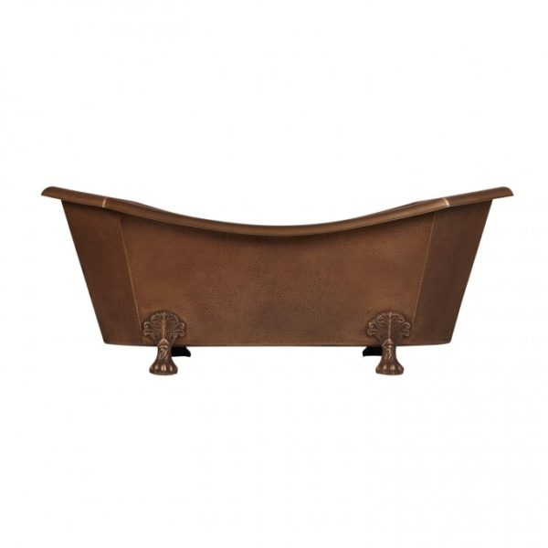 Copper Clawfoot Tub - Coppersmith Creations