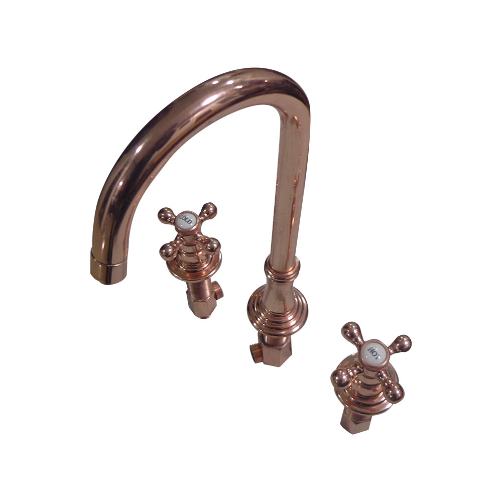 Swan Copper Finish Faucet - Coppersmith Creations