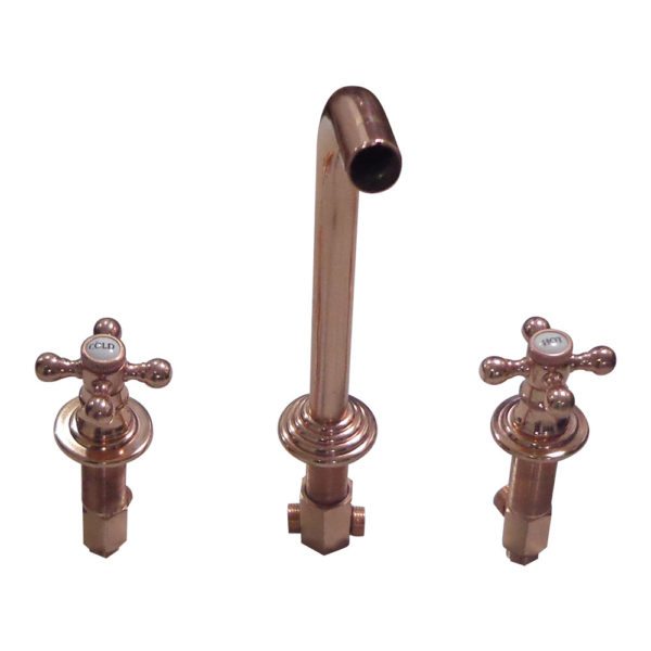 Dixon Copper Finish Wall Mount Faucet - Coppersmith Creations