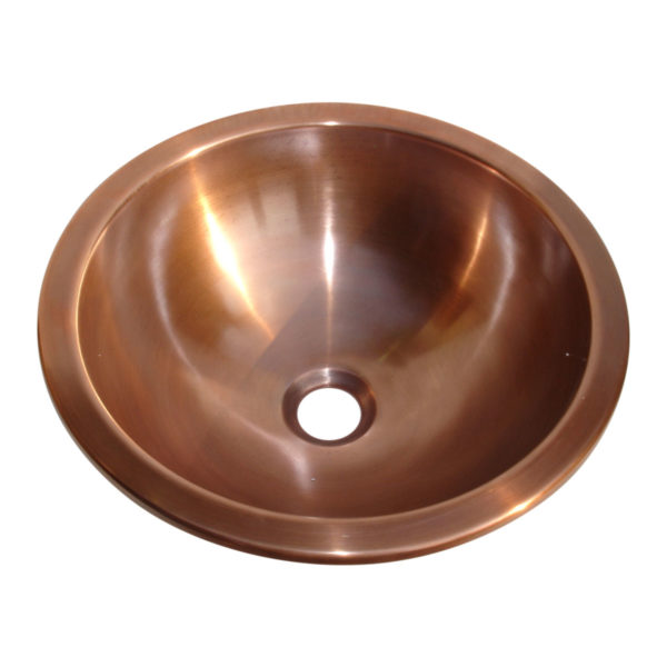 Dark Antique Copper Sink - Coppersmith Creations