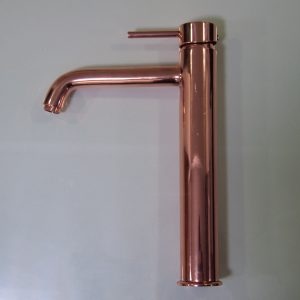 Conduit Shiny Copper Finish Faucet