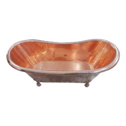 Copper Clawfoot Tub Full Copper Finish
