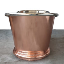 Copper Bathtub Nickel Inside Copper Outside