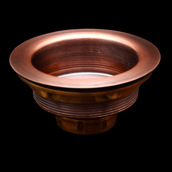 Copper Kitchen Sink Strainer Drain