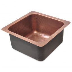 Square Copper Bar Sink