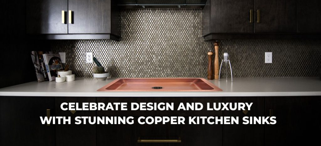 Copper Kitchen Sinks from Coppersmith Creations